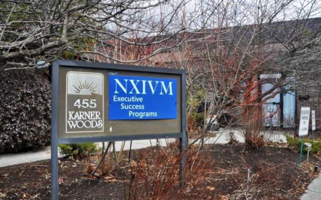 La sede di NXIVM