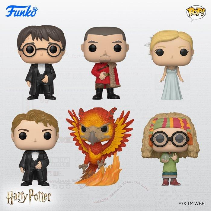 I Funko di Harry Potter al Ballo del Ceppo