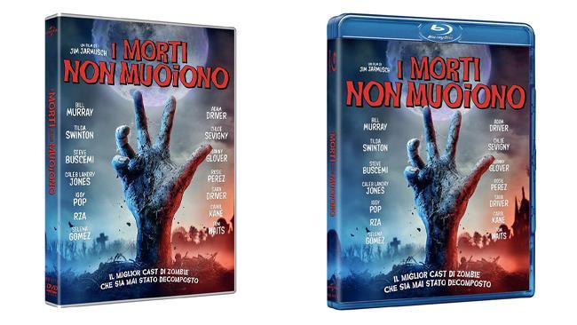 I morti non muoiono, il film nei formati DVD e Blu-ray
