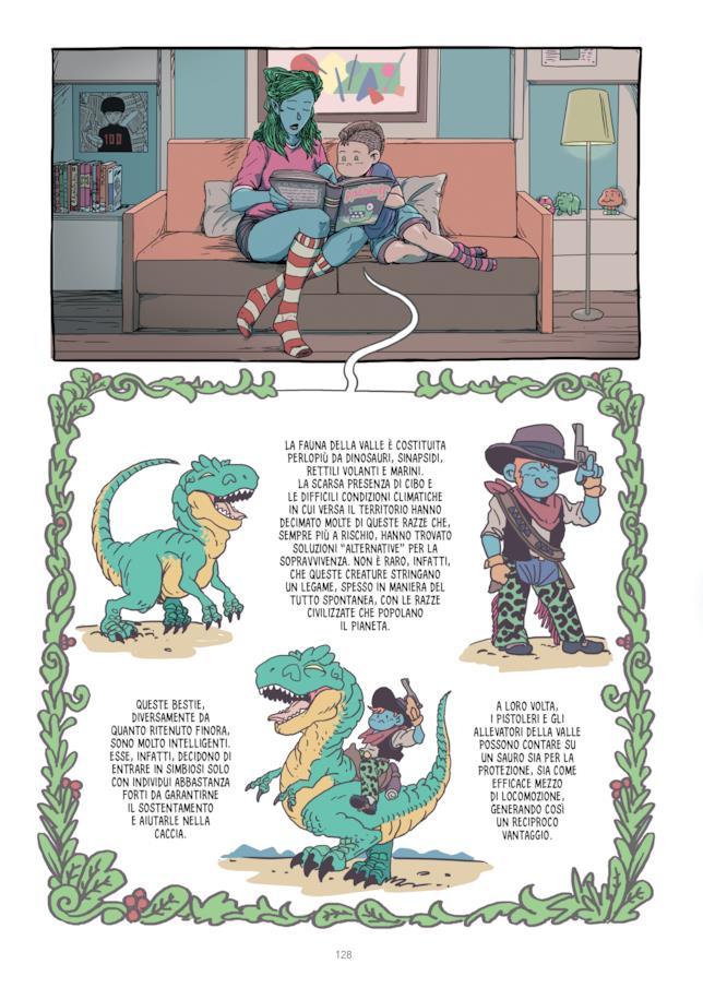 I dinosauri e i pistoleri