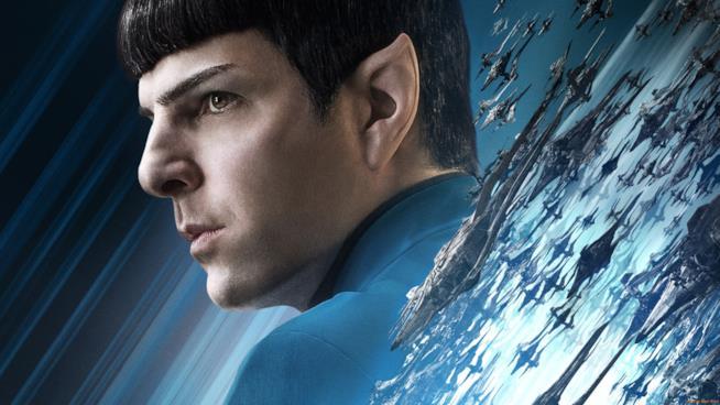 Zachary Quinto è Spock nel dettaglio del poster di Star Trek Beyond
