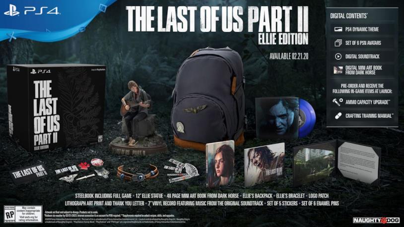 La Ellie Edition di The Last of Us Part II