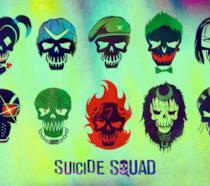 Un manifesto promozionale di Suicide Squad