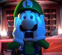 Luigi in un'immagine promozionale di Luigi's Mansion 3
