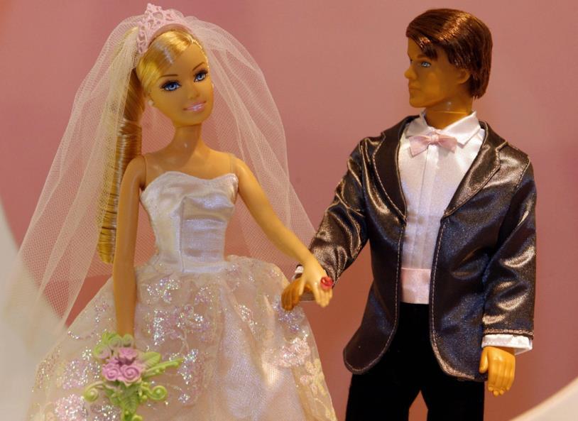 Barbie sposa Ken
