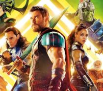 Chris Hemsworth nel poster di Thor: Ragnarok
