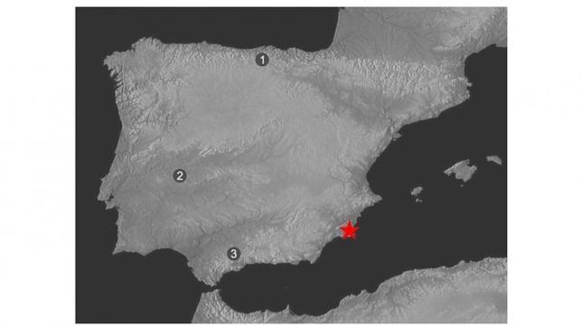 L'ubicazione geografica della Cueva de los aviones