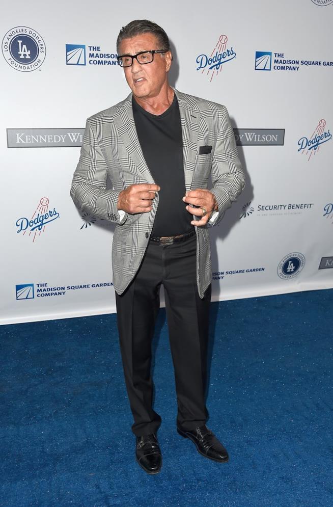 Sylvester Stallone a un evento ufficiale