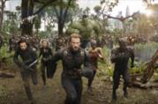 Avengers: Infinity War, una scena dello scontro in Wakanda