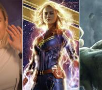 Quanti pugni servono a Captain Marvel per battere Hulk? Risponde Brie Larson