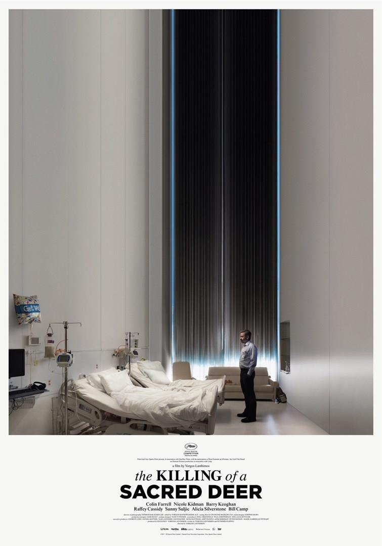 Il poster ufficiale di The Killing of a Sacred Deer