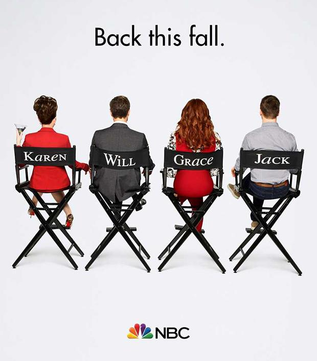 Will & Grace poster del revival