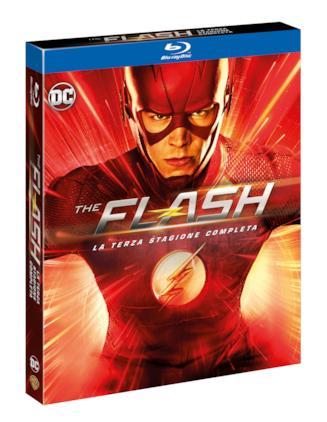Il Blu-ray della terza stagione di The Flash