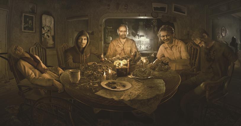 Un'immagine promozionale di Resident Evil 7