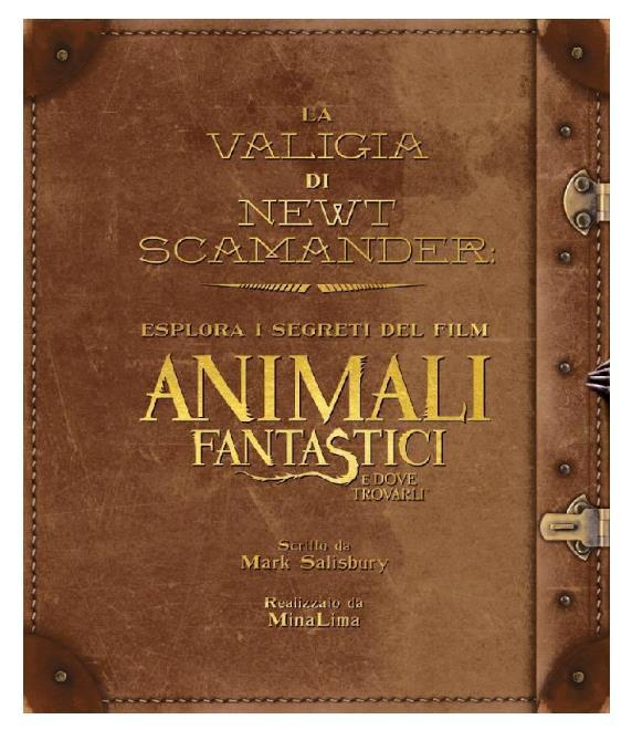 La copertina di La Valigia di Newt Scamander