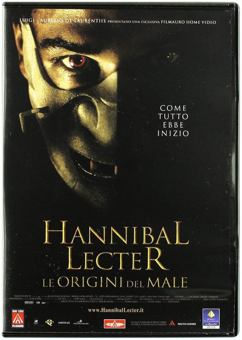 Hannibal Lecter - Le origini del male, la locandina