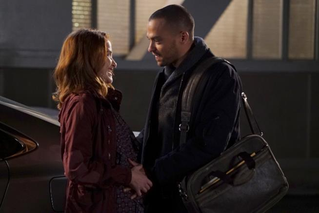 Aprile  Jackson in Grey's Anatomy 12x19
