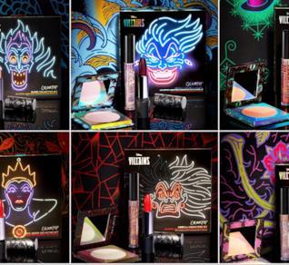 La collezione completa di make up dedicata ai villain Disney