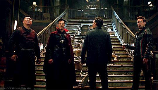 Bruce Banner nel Sanctum Sanctorum