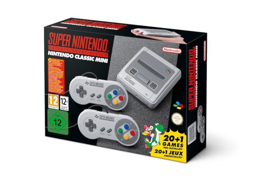 Il Super Nintendo Classic Mini è in vendita anche su Amazon Italia