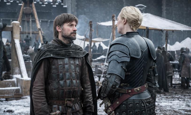 Un'immagine dal secondo episodio dell'ottava stagione di Game of Thrones