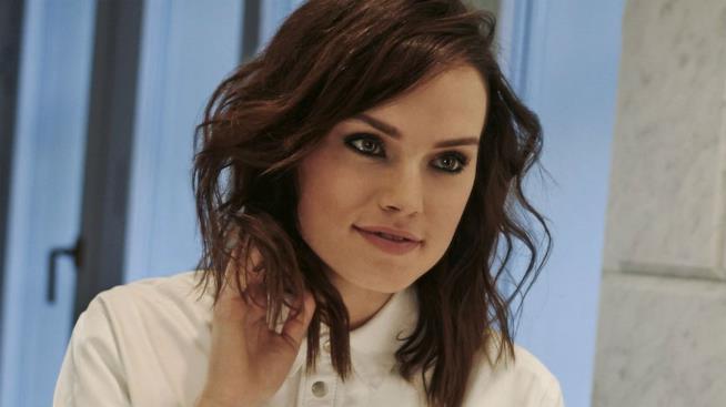 Un'immagine di Daisy Ridley l'attrice che potrebbe interpretare Lara Croft