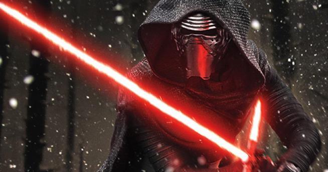 Kylo Ren in Star Wars: Il Risveglio della Forza