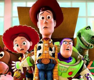 I protagonisti di Toy Story spaventati e perplessi