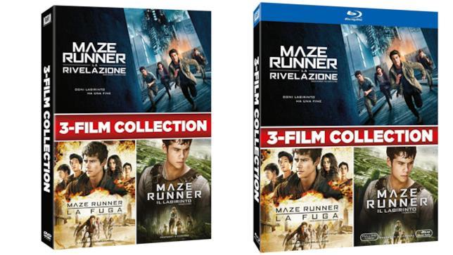 Maze Runner - La trilogia - Home Video