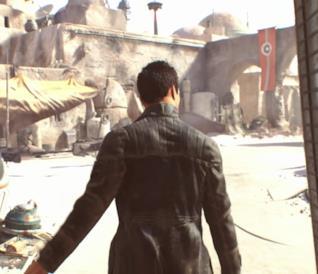 Un'immagine trapelata del gioco Star Wars di Visceral Games