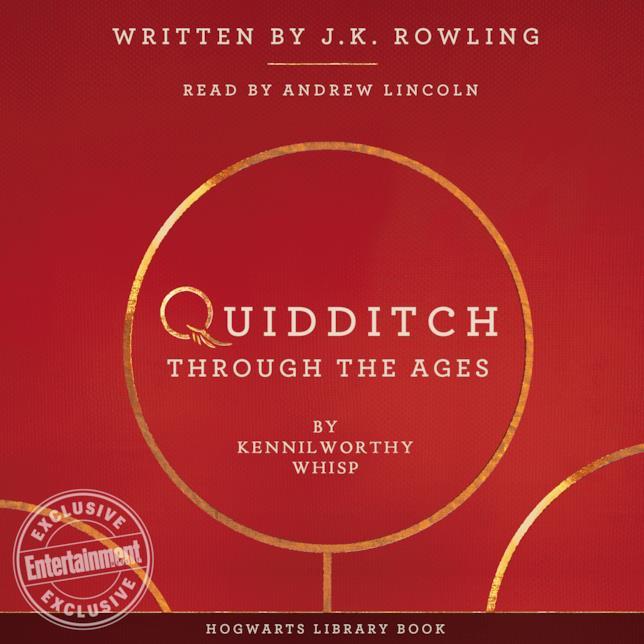 Quidditch Attraverso i Secoli, l'audiolibro
