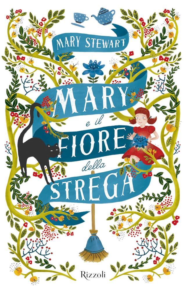 La copertina di Mary e il fiore della strega