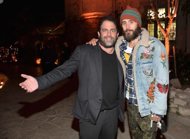 Brett Ratner insieme a Jared Leto