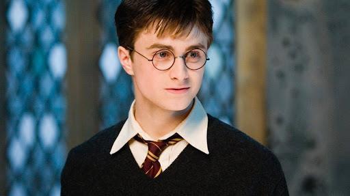 Daniel Radcliffe nel ruolo di Harry Potter