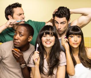 Il cast di New Girl, serie arrivata alla sua settima ed ultima stagione