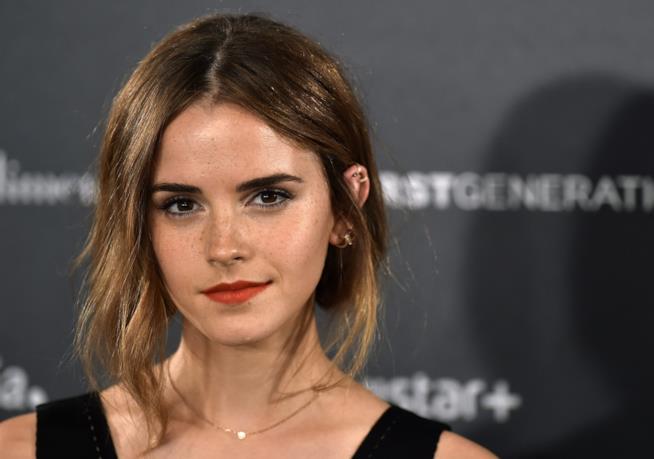 Primo piano di Emma Watson