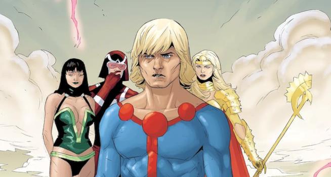 Ikaris e gli altri Eterni sulla pagine dei fumetti Marvel