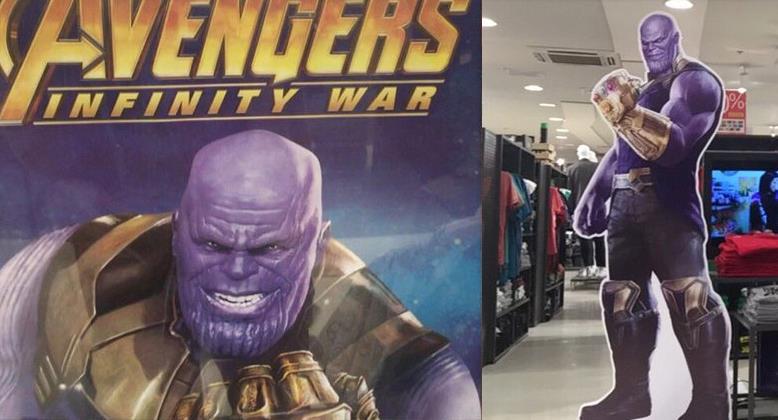 Uno sguardo ravvicinato a Thanos grazie al merchandising di Infinity War