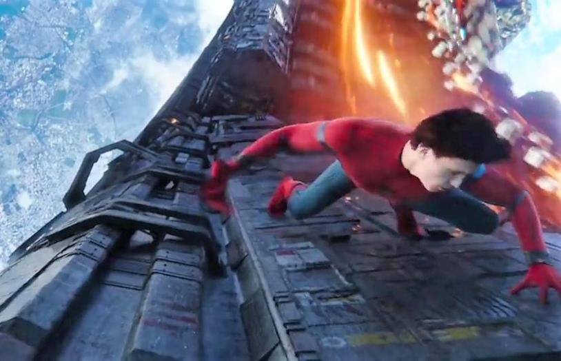 Tom Holland è Spider-Man in Avengers: Infinity War