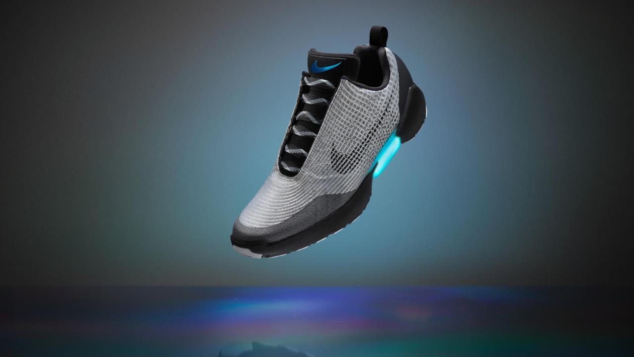 Nike HyperAdapt 1.0 (nero e argento)