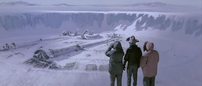 Tra i ghiacci è sepolta un'astronave aliena