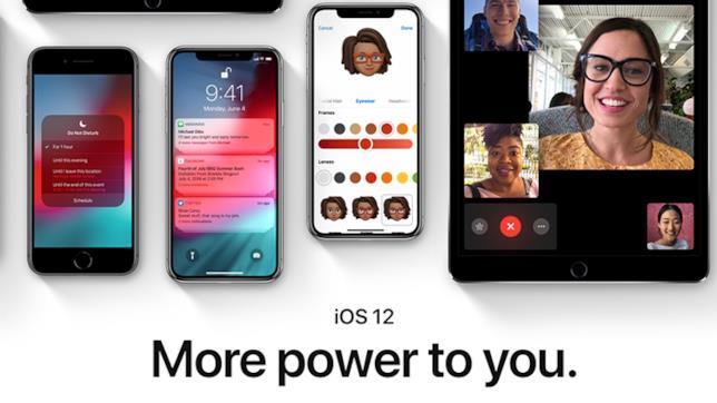 iPhone, iPad e il nuovo slogan per il sistema operativo iOS 12 - More power to you