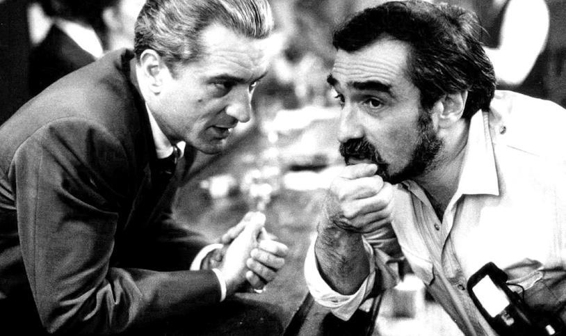 Martin Scorsese e Robert De Niro sul set di Quei bravi ragazzi