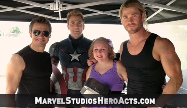 Gli Avengers per Hero Acts