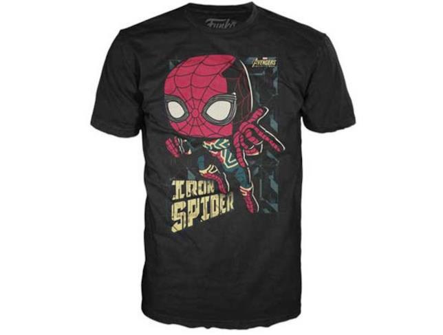 Iron Spider anche sulla t-shirt Funko