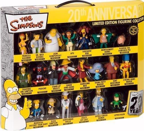Edizione mini figures per i 20 anni dei Simpson