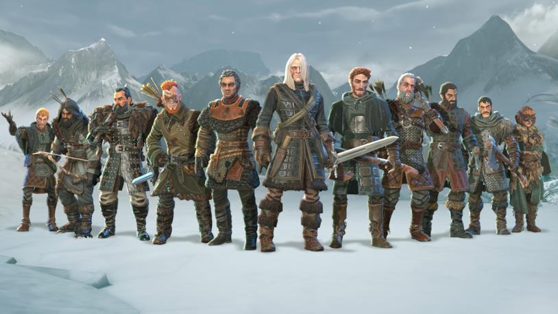 Alcuni dei personaggi di Game of Thrones: Beyond the Wall