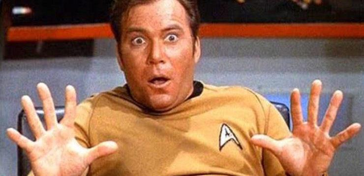 William Shatner ha interpretato il Capitano Kirk di Star Trek