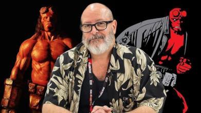Mike Mignola e due versioni di Hellboy
