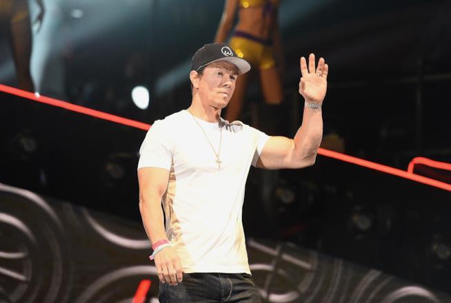 Mark Wahlberg durante un evento